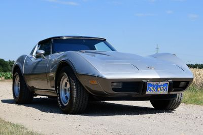 Corvette C3 Targa LT82 Anniversary 25th edition